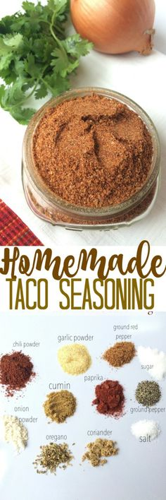 Homemade Taco Seasoning - Together as Family