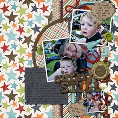 Rough  Tumble Collection by SuzyQ Scraps | template by NeeNee Designs