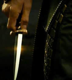 Finally I had some time to practice with my dagger so I tried to ignore you as you entered the room.