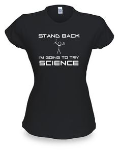 ThinkGeek :: Stand Back (Science) Babydoll