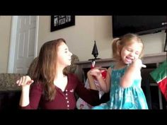 Mom and Daughter who are both Deaf talking about Christmas together: the girl's excitement is infectious! Sorry, not captioned for the ASL-less.