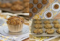 Wicked Healthy Carrot Cake Muffins