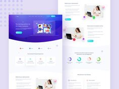 SAAS Landing Page - Video Conference Software Based by SabbirMc for Maayo Studio on Dribbble Facebook Likes, Landing Page Design, Jobs Hiring, Show And Tell, Conference, Competitor Analysis, Software, Web Design, How To Plan