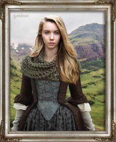 Marsali Fraser – Outlander ... Lauren Lyle • Fanart by cyanbrise •
