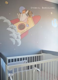 baby rooms by #stencilbarcelona