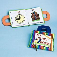 Quiet Book Pages for Tristan-man!