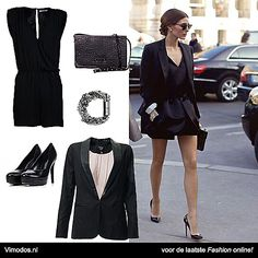 Shop the look van Olivia Palermo bij Vimodos!  Soaked in Luxury Jumpsuit: http://www.vmds.nl/mv Kennel und Schmenger pumps: http://www.vmds.nl/mw Friis & Company clutch: http://www.vmds.nl/mx Selected Femme armband: http://www.vmds.nl/my Dept blazer: http://www.vmds.nl/mz