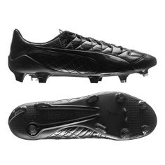 Free Shipping on Orders Over $50!  Buy your Puma evoSPEED SL K FG (Triple Black) at your online soccer store - SOCCERCORNER.COM