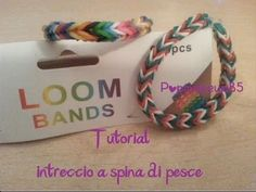Come fare il Fishtail LOOM BANDS! Tutorial ita