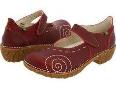 El Naturalista Iggdrasil N095 Women's Hook and Loop Shoes Tibet : 38 (US Women's 7-7.5) M (B)