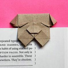 Gấp giấy thành hình chó Bull siêu đáng yêu - Kenh14.vn