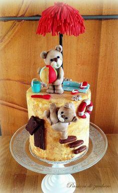 bears on the beach - Cake by passioni di zucchero