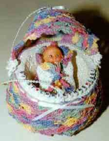 Crocheted Baby's First Christmas