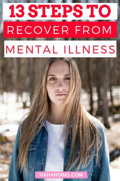 13 comprehensive steps to recover from mental illness, depression and anxiety. Causes Of Depression, Depression Recovery, How To Cure Depression, Fighting Depression, Overcoming Depression, Dealing With Depression, Depression Treatment