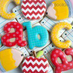 My favorite back to school cookies.
