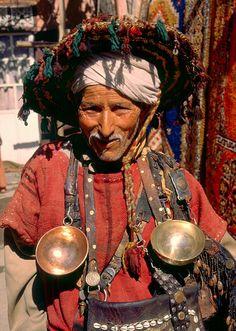 Marokkanischer Wasserträger