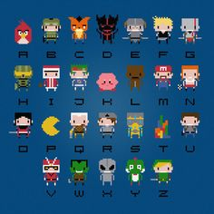 video game alphabet...if we're actually going by names here, Z would actually b L. He's NOT Zelda.