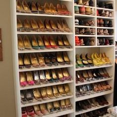 shoe storage ideas on pinterest shoe wall built in cupboards and
