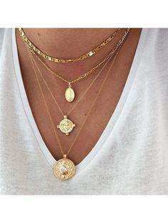Diamond Choker Necklace, Diamond Cross Necklaces, Dainty Gold Necklace, Simple Necklace, Necklace Set, Pendant Necklace, Layered Necklace, Gold Gold, Gold Set