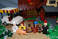 Gravity Falls Mystery Shack Lego - (version 2): A LEGO® creation by Ian and sometimes Zach : MOCpages.com