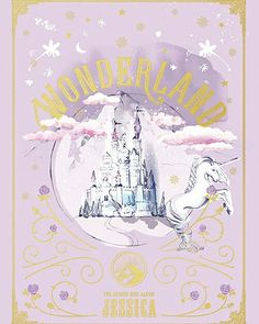Jessica Jung's Wonderland Album Cover. The album will be launched on Desember 10, 2016. Jessica wrote the lyrics of four songs of the six songs on this album