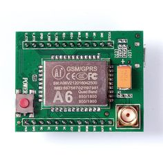 A6 GSM GPRS Module Quad Band SMS Voice 850MHz 900MHz 1800MHz 1900MHZ with Antenna for Arduino wires for Arduino Raspberry