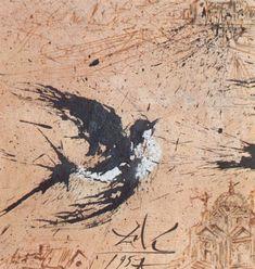 Swallow - Salvador Dali - WikiArt.org