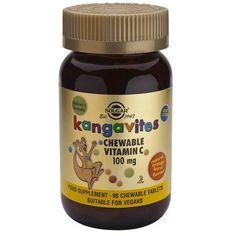 Kangavites VitaminaC 100 mg 90 Comprimidos masticables – Herbolario Oriente