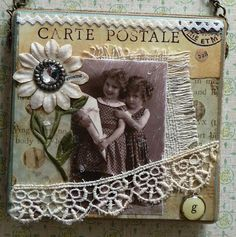 Growing Vintage Photo Collage Canvas by myvintagewhimsies on Etsy, $28.95