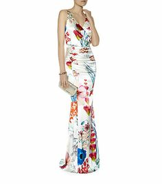 Roberto Cavalli Tropical Floral Print Maxi Skirt £840.00 Product Code 3631587 Tropical Floral Print Top £580.00