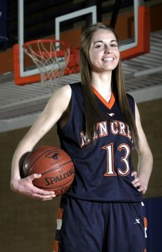 Mountain Crest's Karlee Kartchner was named the All-Valley Player of the Year in girls basketball. (Photo by Jennifer Meyers)