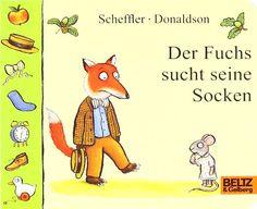 Der Fuchs sucht seine Socken: Papp- und Klapp-Bilderbuch von Axel Scheffler http://www.amazon.de/dp/3407792603/ref=cm_sw_r_pi_dp_WxtNwb0RMFF2C
