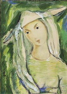 Retrato de niña, 1964, Victor Manuel. Cuban (1897 - 1969)