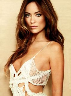 olivia wilde..looks like my hair i love the chocolate brown color with highlights!