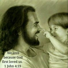 We love because God first loved us. 1 John 4:19  #bible #love #GOD