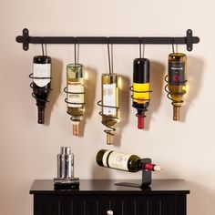 Harper Blvd Winston Wall Mount Wine Rack - Free Shipping Today - Overstock.com - 16404245 - Mobile
