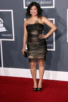 More Glee stars hit the 2011 Grammys