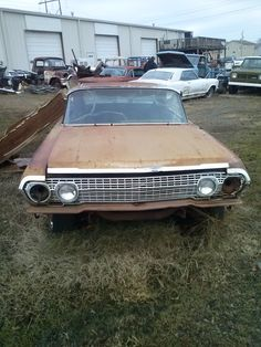 A '63 Chevy Impala 2-door. Very Restorable. Dover Arkansas. Tripper's Travels.
