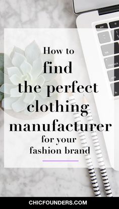Find your perfect clothing manufacturer for your fashion brand