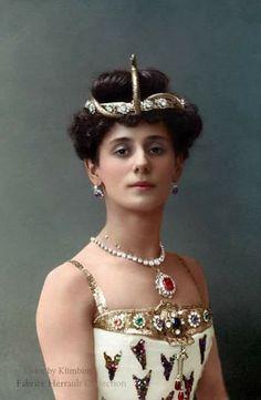 Mathilde Kshessinskaya, ballerina and mistress of Nicholas before he marries Alix