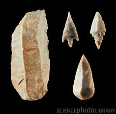 neolithic flint tools