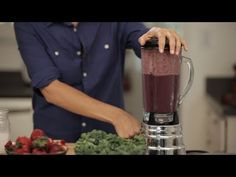 How to Make a Kale Smoothie Your Kids Will Love: Having trouble getting your kids to eat green things?  Chef Helen Cavallo shares her recipe for this surprisingly refreshing, and sweet Kale Smoothie.  Follow Babble Video on Twitter: https://twitter.com/BabbleVideo  SUBSCRIBE for more videos! http://www.youtube.com/subscription_center?add_user=Ba...
