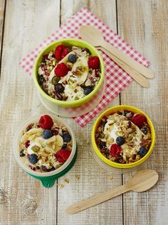 """Jools' breakfast on the go """"I make this super-simple breakfast for the girls to eat on the way to school if we're running out the door, or when we have an early start """""""