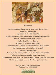 Villancico, de Miquel Martí i Pol.