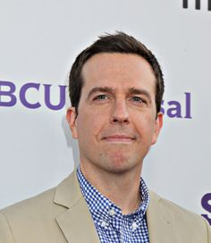 I know barely anything about Ed Helms, but if he proposed to me at this very moment, I would throw caution to the wind and accept without a single thought.