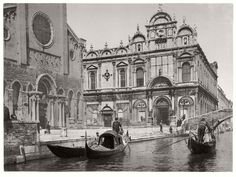 In the late 19th century Venice flourished as a port and a manufacturing center. The railway reached Venice in 1846. However Venice did not prosper under Austri