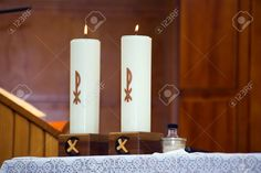 Our Morning Offering - February 2 #pinterest Lord Jesus Christ, You are the true Light enlightening every soul born into this world. Today we celebrate the feast of Candlemas. The flames of these candles will shed their light upon the altar at the Holy Sacrifice.....| Awestruck Catholic Social Network