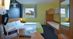 Familienzimmer im B&B Hotel Oberhausen am Centro