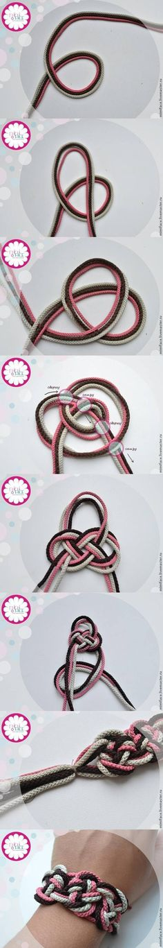 DIY Multi-color Bracelet