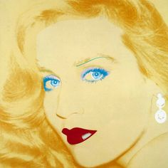 Warhol Andy Jerry Hall 17 x 17
